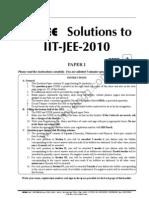 Iit Jee 2010 Paper 1