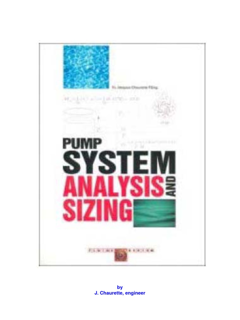 Pump System Analysis and Centrifugal Pump Sizing | Pressure | Pump