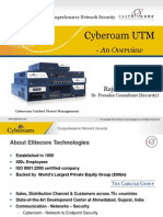 Cyberoam UTM - Unified Threat Management