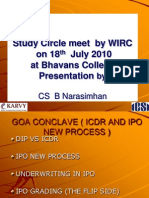 46642178 WIRC Study Circle Meet ICDR vs DIP and IPO New Process