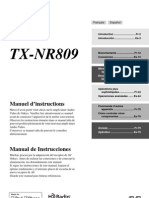 Manual TX-NR809 FrEs Web