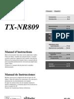Manual TX-NR809 FrEs Web