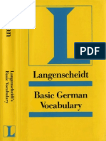Langenscheidt Basic German Grammar (Only Text)