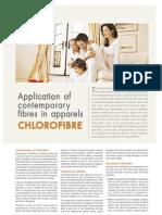 Application of Contemporary Fibres in Apparels CHLOROFIBRE