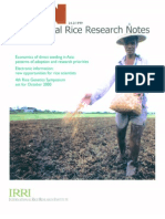 International Rice Research Notes Vol.24 No.2