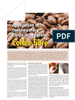 Application of Contemporary Fibres in Apparels Coffee Fiber
