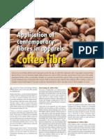 Application of Contemporary Fibres in Apparels Coffee Fiber