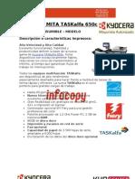 Toner original para Kyocera Mita TASKalfa 650c