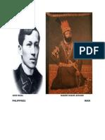 Joze Rizal Nader Shahe Afshar