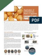 Application of Contemporary Fibres in Apparels Cocona Fiber