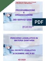 Organizzazione Sanitaria - Filippo Vitale