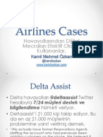 Airlines Social Media Cases