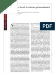 Reforma Seguretat Social. Revista Fundacio 1 de Maig