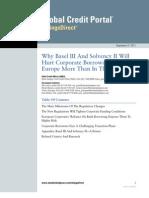 S&P Etude Bâle III et Solva II