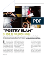 El Club de los poetas vivos. Por Carlos Dávalos en Qué leer (España)