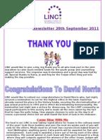 Newsletter 28th Sept