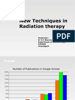 New Techniques in Radiation Therapy