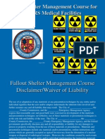 Fallout Shelter Management Course MMRS - Aug 2006 Final- Generic