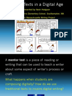 Mentor Texts in a Digital Age PDF Version