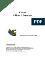 Quaderno Tecnico Corso a1 Roma