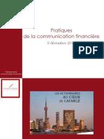Cours communication financière - EM Lyon -Part1