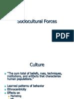 Sociocultural Forces (1)