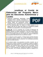 Programa Marco de Elecciones