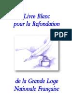 Livre Blanc Pour La ion de La GLNF