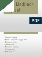Meditech Case Analysis