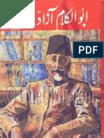 Abul Kalam Azad , Agha Shorish Kashmiri - ابوالکلام آزاد , آغا شورش کشمیری