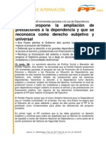 PASTOR - Enmiendas Ley de Depend en CIA (13.06