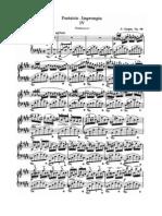 Chopin Fantasie Impromptu in c Sharp Minor Op 66