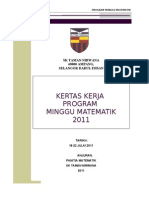 Kertas Kerja Minggu Matematik