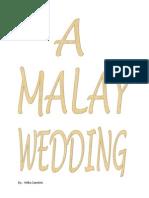 A Malay Wedding