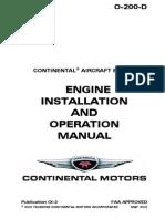 Continental c 85 parts manual.