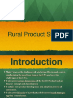 Rural Product Strategy - CRM