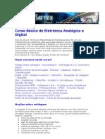 Curso Básico de Eletrônica Analógica e Digital