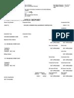 Cornerstone Corporate Profile Report
