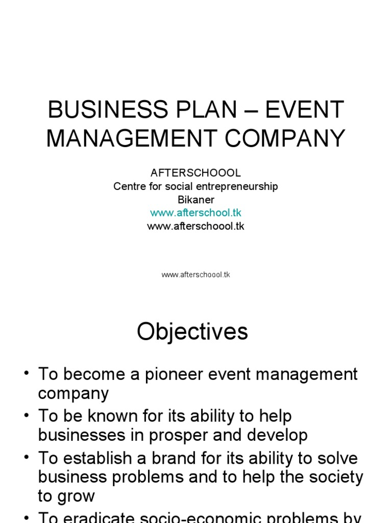 Events organising business plan tips on a good compare and contrast essay
