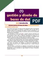 Sistemas Gestores de Bases de Datos1