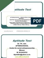 2 AUGUST Aptitude Test