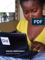 Digital Democracy 2009-2010 Annual Report