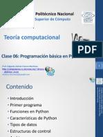06 Programacion Basica en Python