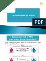 Activité Marketing Mobile