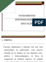 2009.2 Fundamentos Epistemológicos