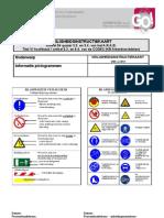 Instructiefiche informatie pictogrammen
