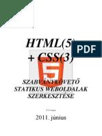 Html5 Css3 Osszefoglalo v5