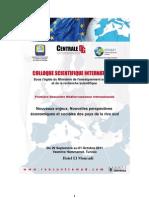 Programme Colloque Centrale DG