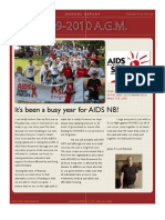 AIDS NB 2009 Annual Report
