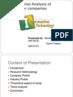 Presentation on 5 IT Sector